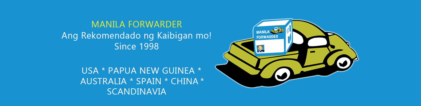 Manila Forwarder Balikbayan Box