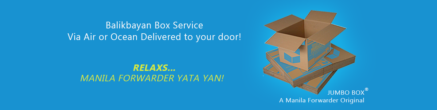 Manila Forwarders, The Leader in Balikbayan Box Technology